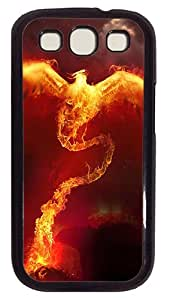 Phoenix Case Cover for Samsung Galaxy S3 SIII I9300 PC Black