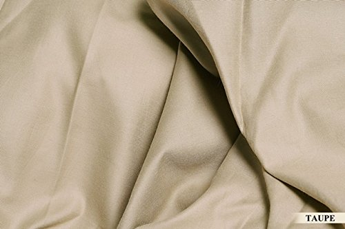 UPC 641725879757, Aashirainwear 1 Flat Sheet Only 100% Cotton 400-Thread-Count King Size Taupe Solid