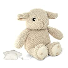 Cloud B Dreamy Hugginz Musical Plush Sleep Soothers, Beige, Sheep