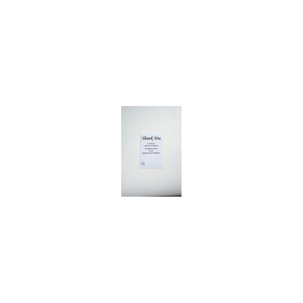 ''Thank You'' Envelopes Black Ink Pack of 250