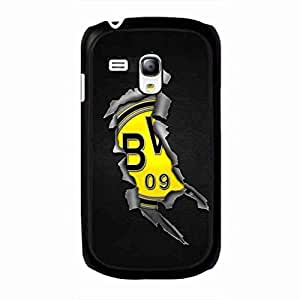 Samsung Galaxy S3Mini Borussia Dortmund Logo Fundas moviles,Football Club Logo Phone Fundas moviles Samsung Galaxy S3Mini,Ballspiel-Verein Borussia 1909 E.V. Dortmund£¬BVB Logo Samsung Galaxy S3Mini Cover