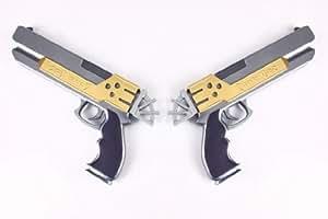 CTMWEB - Final Fantasy X-2 Cosplay Accessory - Yuna's Dual Pistol 1st Version