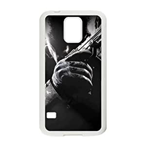 Samsung Galaxy S5 Cell Phone Case White Call of Duty Black Ops ecb