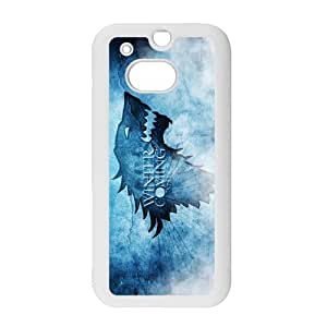 Tv Show Game of Thrones Design Case for HTC One M8 TPU (Laser Technology) Style 03