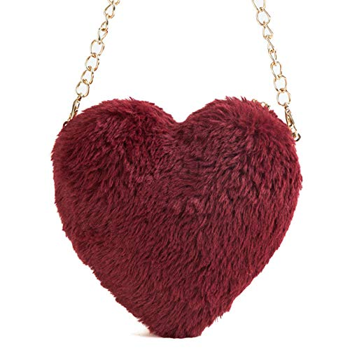 Clutch Wm Mujer De Bag Dinner Plush Bandolera Bolso Bolsa Amor qxUFz6wv