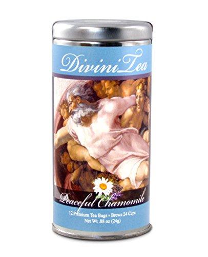 Michelangelo Beverage - DiviniTea Premium Peaceful Chamomile Tea 12 Teabags