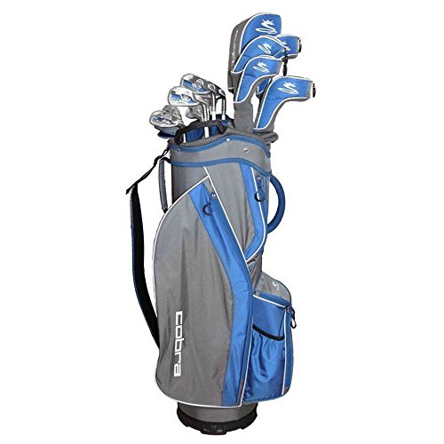 Cobra Flyz S Women's 8Pc Right Hand Blue Complete Golf Set