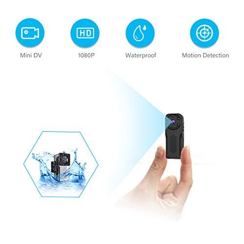 🥇 Waterproof Mini Spy Camera