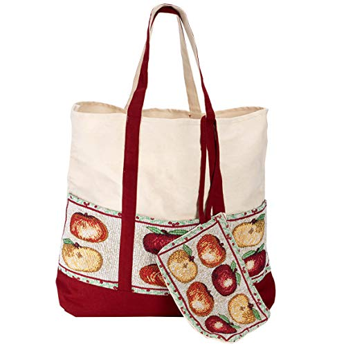 Fox Valley Traders Harvest Tapestry Tote with Wristlet