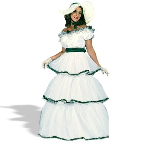 Scarlett O Hara Curtain Dress (Southern Belle Costume - Small/Medium - Dress Size)