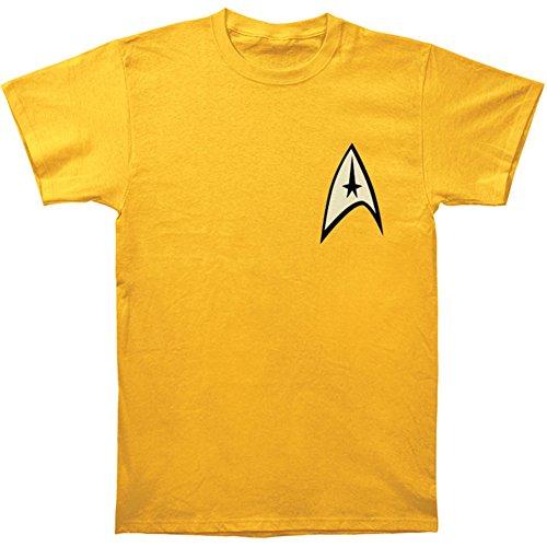 Star Trek Command Gold Uniform T-Shirt