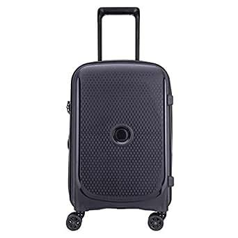 Delsey Paris Belmont Plus 55 cm 4 Wheels Cabin Trolley Case Carry-On (Hardside), Anthracite (00386180401)