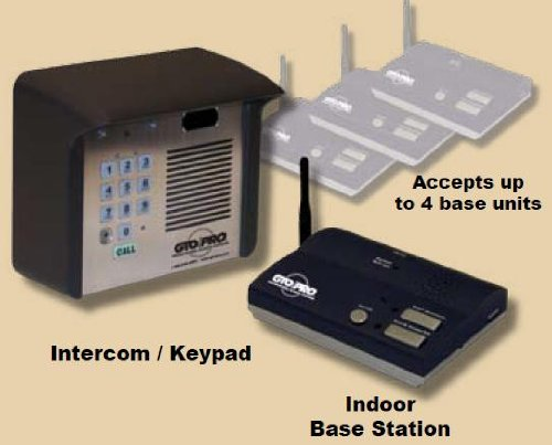 Gate Keypad (GTO Wireless Keypad w/ Intercom, GTO F3100MBC Estate Series)