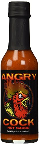 RetailSource CaJohns Angry Cock Hot Sauce, 5 oz., 2 Bottles