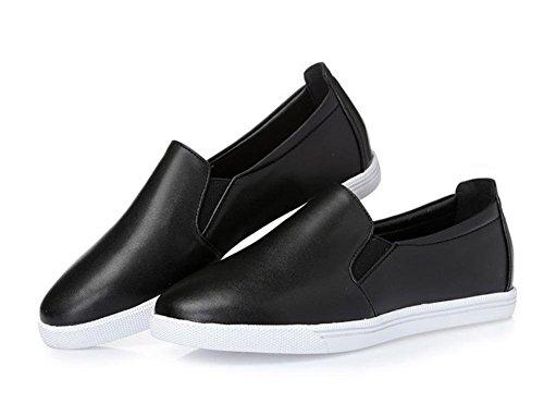 Ms. primavera e autunno scarpe ascensore rotonda pendenza con scarpe basse scarpe casual per aiutare a basso mette piede calza i pattini delle donne , US6 / EU36 / UK4 / CN36