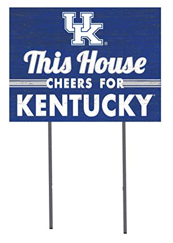 KH Sports Fan 18x24 Lawn Sign Kentucky Wildcats
