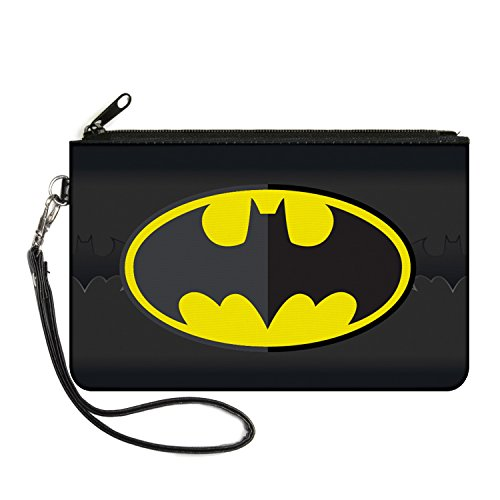 Buckle-Down Junior's Canvas Coin Purse Batman, Multicolor, 4.25