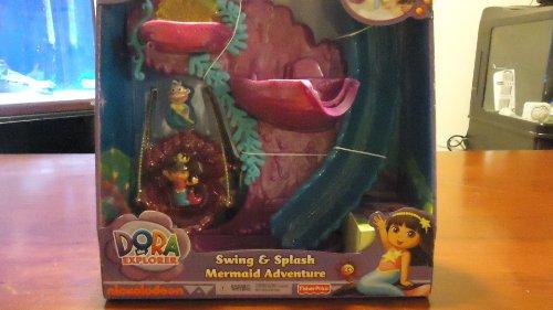 Dora the Explorer Swing & Splash Mermaid Adventure Bath Playset ()