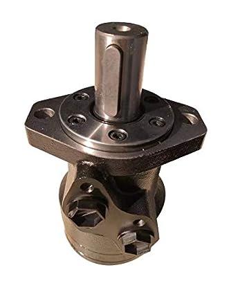 Motor hidr/áulico 32 mm eje para Danfoss OMR Series 2 pernos de montaje brida G1//2 NPT puertos eje nuevo 80CCM-Displacement