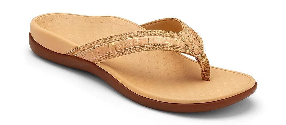 8f202fec21131 Amazon.com | Vionic Women's Tide II Toe Post Sandal | Flip-Flops
