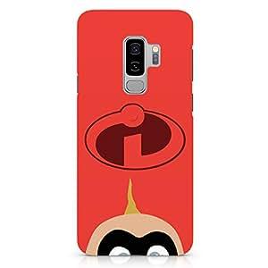 Loud Universe Incredibles Child Samsung S9 Plus Case The incredibles Movie Samsung S9 Plus Cover with 3d Wrap around Edges