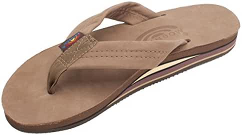 Rainbow Men's Premier Double Layer Wide Strap Sandals.
