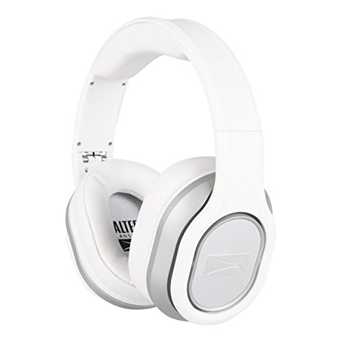 Altec Lansing MZX656-WHITE Foldable Headphones, White (Altec Lansing Audio Headphone)