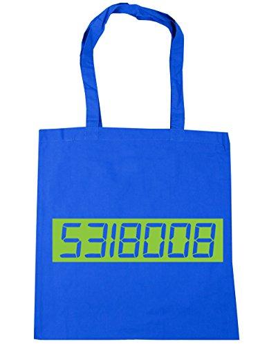 Tote 5318008 Calculator Shopping Gym litres HippoWarehouse 42cm Blue boobies Cornflower 10 Bag Beach x38cm t1d4xtqH