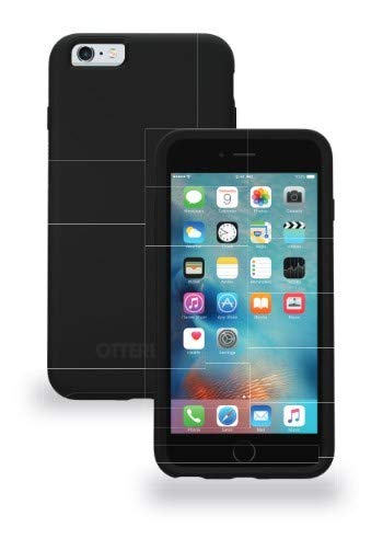 OtterBox SYMMETRY SERIES Case for iPhone 6/6s (4.7) with ALPHA GLASS Screen Protector - Special Edition - Black