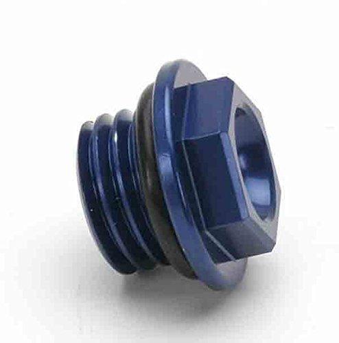 Works Connection Oil Filler Plug - Blue 24-071