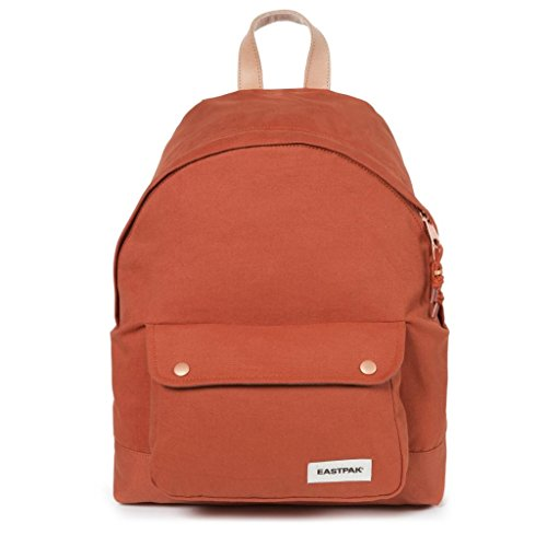 Eastpak Padded Pak'r Mochila Tipo Casual, Diseño Instant Crush, 24 Litros, Color Rosa Naranja(Superb Copper)