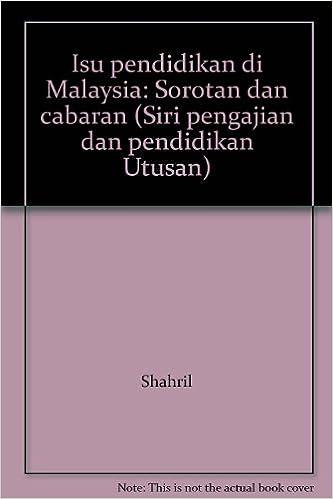 Pdf Globalisasi Dan Cabaran Pendidikan Di Malaysia Globalization And Educational Challenges In Malaysia Anita Ali Academia Edu