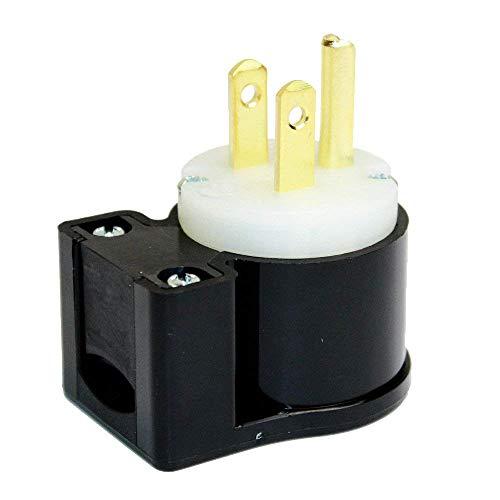 Superior Electric YGA019A 15A 125V NEMA 5-15P Straight Electrical Plug (10)