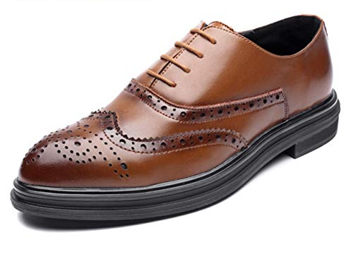 Brown England New Herrenschuhe Geschnitzt Brock Schuhe Shiney Business Casual Spitz wvCz6n6Rqp