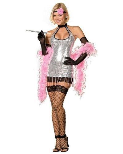 Swingin' Flapper Costumes (Swingin Sista Flapper Halloween Costume (Small))