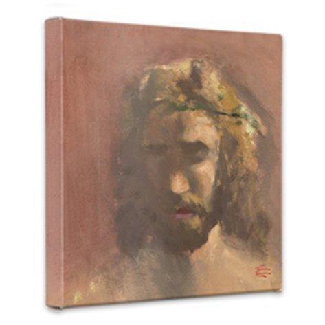 (Thomas Kinkade Prince of Peace 14 x 14 Gallery Wrapped Canvas )