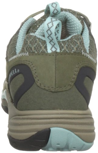 Merrell Avian Light Leather J16702 - Zapatillas de senderismo de cuero nobuck para mujer Verde (Grün (Dusty Olive))