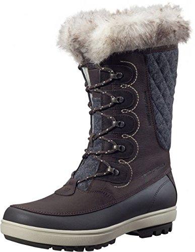 Helly Hansen Women's Garibaldi VL Lux Snow Boot, Coffee Bean/Espresso/Natural, 8 M US by Helly Hansen
