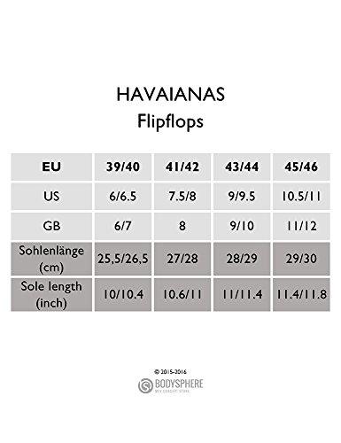HAVAIANAS TREND STEEL GREY HOMBRE (41/42BR 43/44EU)