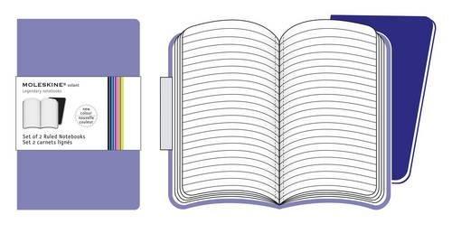 Moleskine Volant Notebook (Set of 2), Large, Ruled, Light Violet, Brilliant Violet, Soft Cover (5 x 8.25) by Moleskine (Image #5)