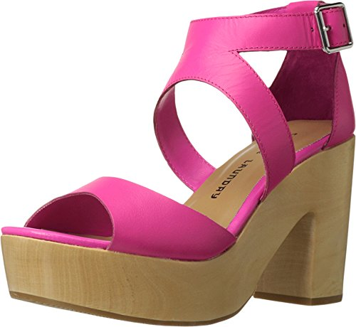 Chinese Laundry Women's Ocean Avenue Platform Sandal, Shocking Pink Leather, 7.5 M ()