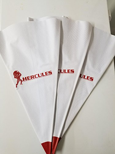 HERCULES GB-3 12x24 Tile Grout Masonry Mortar Bag Tear Resistant Tip 3-PACK