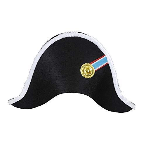 widmann 01126Hat Napoleon (Costume Male/Female), Black]()