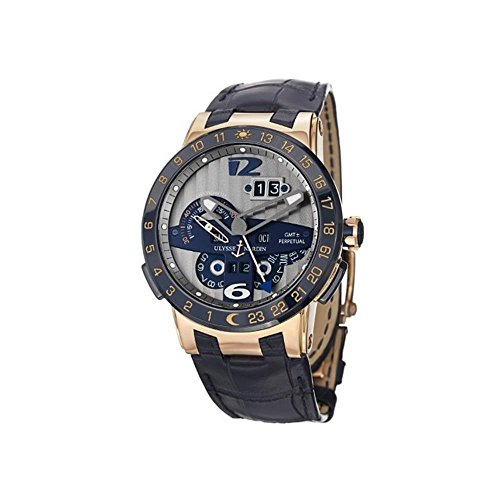 Ulysse Nardin El Toro Men s Rose Gold Automatic Perpetual Calendar Watch 326-00