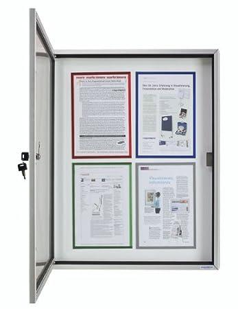24/Anelli per DIN A4 bianco Renz Dorsi in Plastica europea della Divisione diametro 22/mm