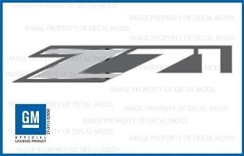 2014 GMC Sierra Z71 4x4 Decals bed stickers set of 2 FMT metallic strip truck