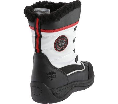totes Womens Lauren Waterproof Snow Boot,7 C/D US,White