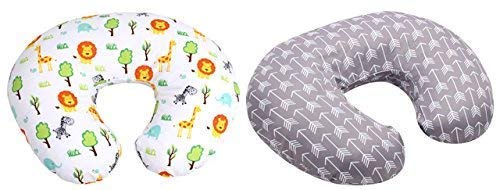 SALE - MyTickles Nursing Pillow and Positioner (With TWO Slipcovers), Positioning & Support For Breastfeeding Moms & Baby. A Perfect Present / Great Baby Shower Gift! by MyTickles