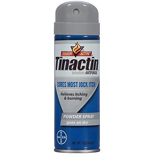 Tinactin Antifungal Powder Spray for Jock Itch - 4.6 oz, Pack of 6
