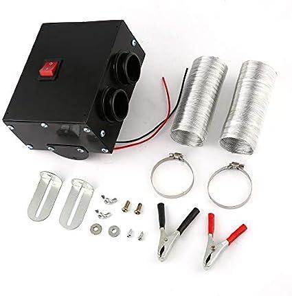12V 24V 300W Calentador de camión para autos Agujero dual ...